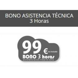 3 Horas - Bono Asistencia...