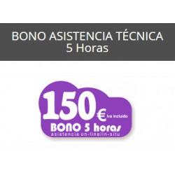 5 Horas - Bono Asistencia...