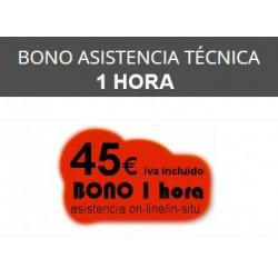 1 Hora - Bono Asistencia...